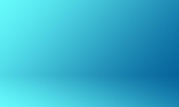 Fond de studio bleu dégradé