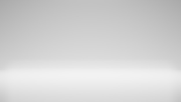 Fond de studio moderne fond blanc moderne et simple salle de studio espace vide moderne