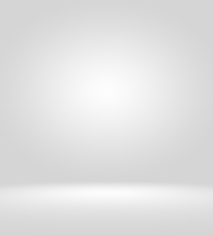 Fond de studio de photographe vide clair résumé, texture d'arrière-plan de la beauté bleu clair clair, gris froid, mur plat dégradé blanc neigeux et sol dans l'intérieur d'hiver d'une pièce spacieuse vide.