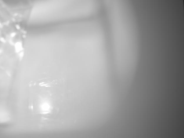 Fond de superposition gris abstrait avec des ombres et de la lumière
