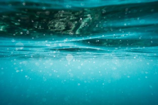 Fond de surface aqua aquatique sous-marine