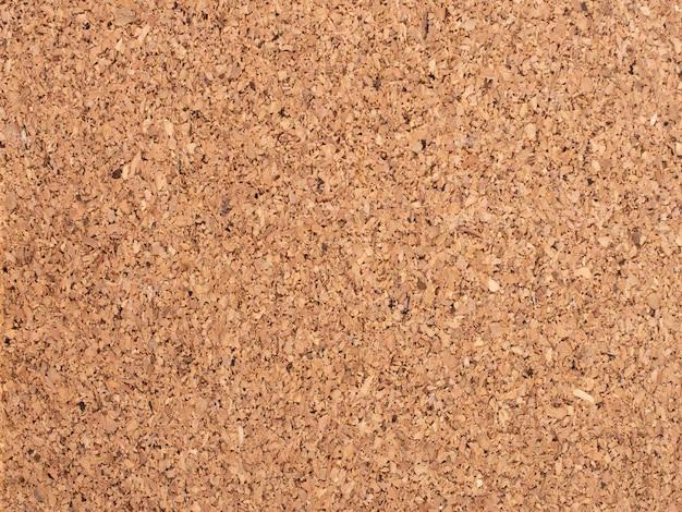 Fond de surface en liège brun pressé, concept de recyclage