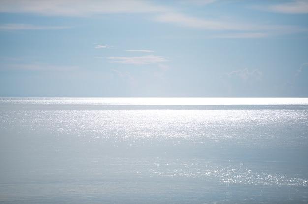 Fond de surface de mer d'eau de paysage marin à phuket thaïlande belle mer en journée ensoleillée d'été journée de beau temps.