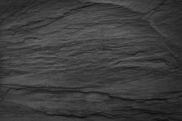 Fond de surface en pierre noire. pour le design et comme arrière-plan