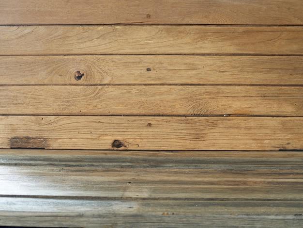 Fond de table en bois ancien rustique.