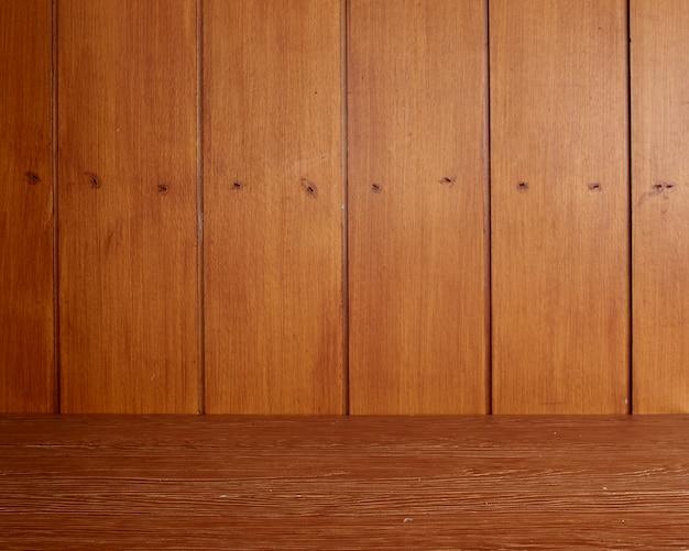 Fond de table en bois