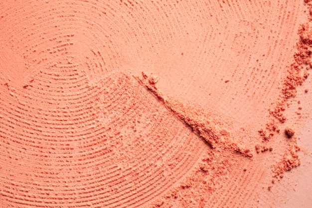 Fond de tache de poudre compacte blush