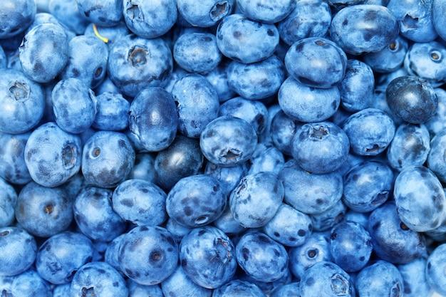 Fond de tas de bleuets