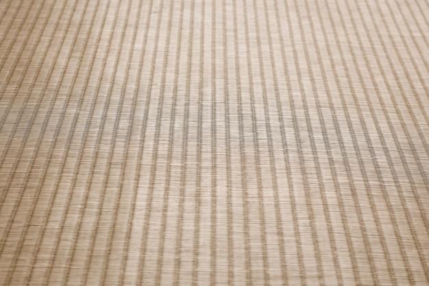 Fond de tatami traditionnel japonais