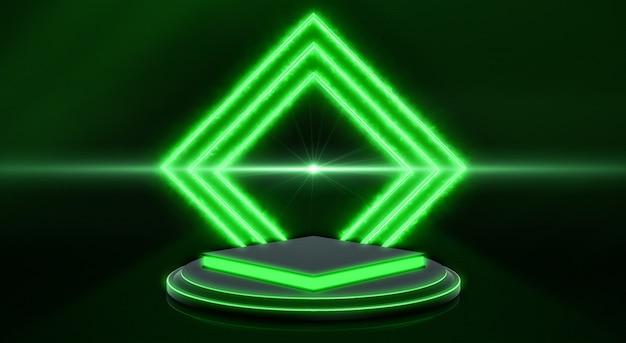 Fond de technologie abstraite 3d