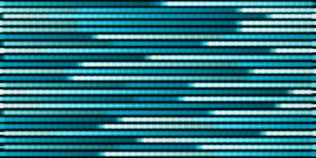 Fond de technologie cercle abstrait néon points 3d illustration