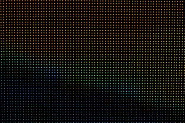 Fond de technologie d'écran led.