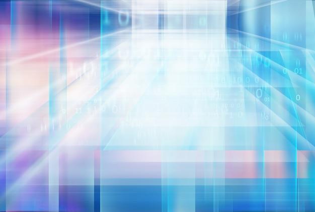 Fond de technologie de stockage de données numériques