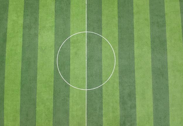 Fond de terrain de football d'herbe verte