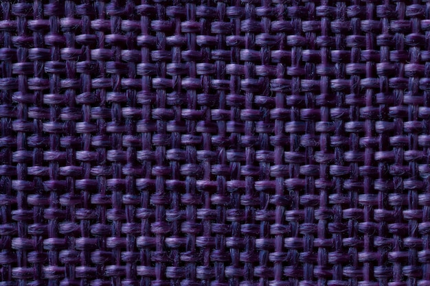 Fond textile bleu foncé avec damier