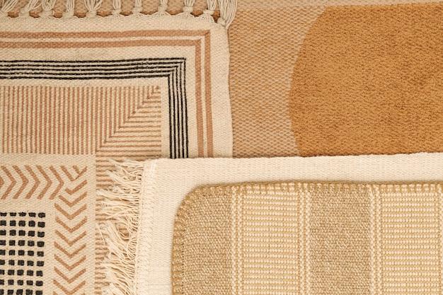 Fond textile esthétique, motif ethnique