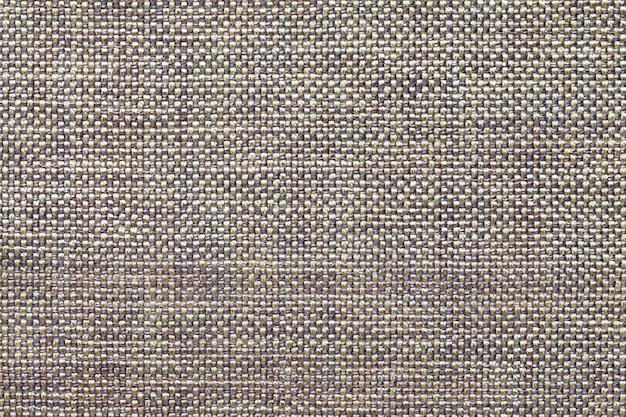 Fond textile gris clair, gros plan. structure de la macro de tissu.