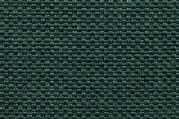Fond textile vert avec damier patterno.
