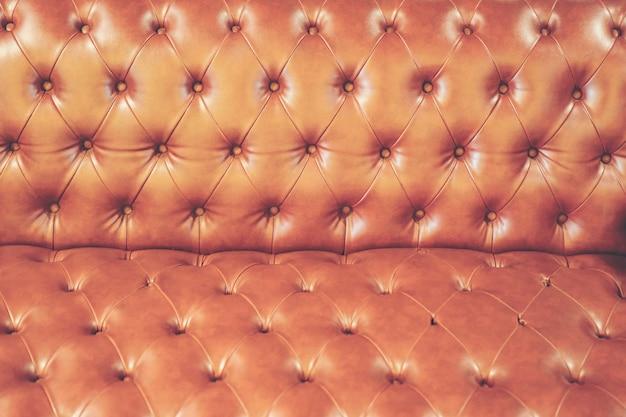 Fond de texture abstraite du canapé en cuir de luxe