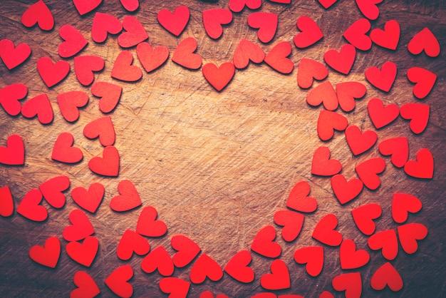 Fond de texture abstraite du concept de l'amour pour la saint-valentin