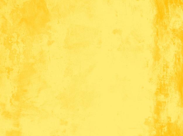 Fond de texture abstraite grunge jaune