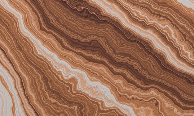 Fond de texture abstraite marron rendu 3d.