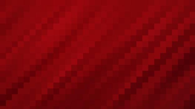 Fond de texture abstraite de mosaïque rouge, fond d'écran doux de flou de fond de modèle