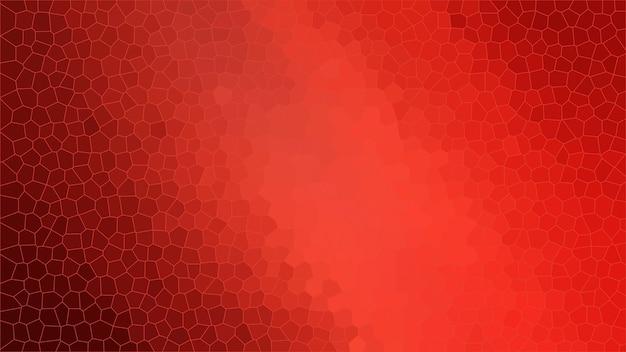 Fond de texture abstraite de mosaïque rouge, toile de fond de modèle de papier peint dégradé