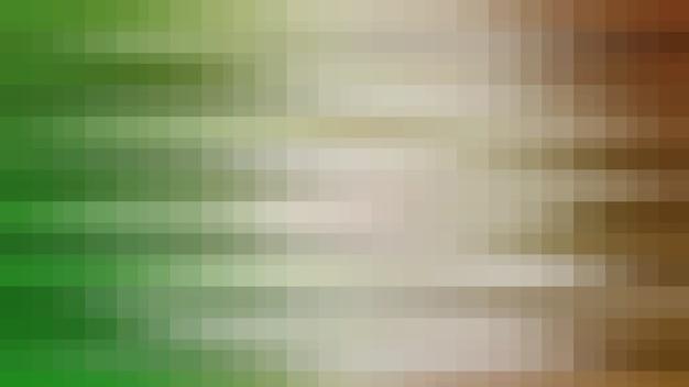 Fond de texture abstraite de mosaïque verte et brune, toile de fond de modèle de papier peint dégradé