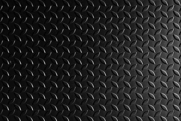 Fond de texture en acier en métal noir