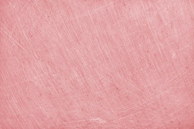 Fond de texture en aluminium avec couleur or rose