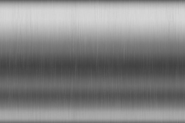 Fond de texture en aluminium rayé