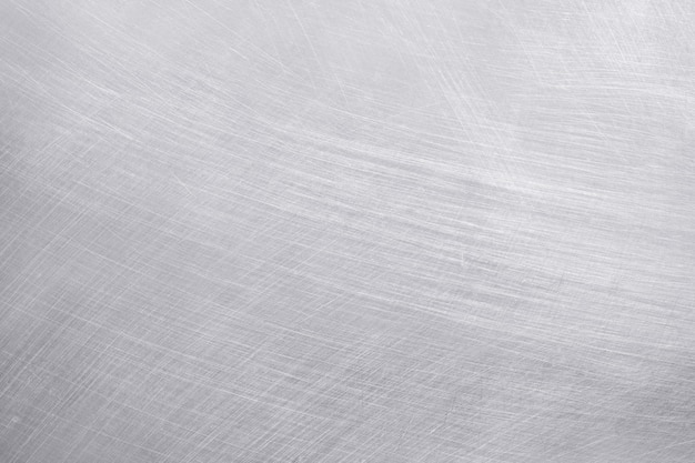 Fond de texture en aluminium, rayures sur l'acier inoxydable.