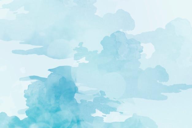 Fond texturé aquarelle bleu clair