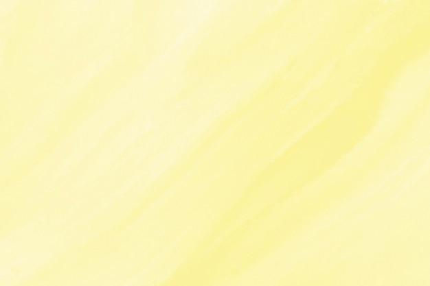 Fond de texture aquarelle jaune