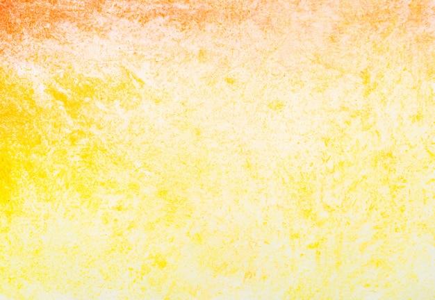 Fond de texture aquarelle rouge et jaune
