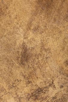 Fond texturé en béton brun grunge