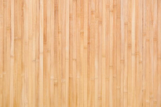 Fond de texture en bois de bambou