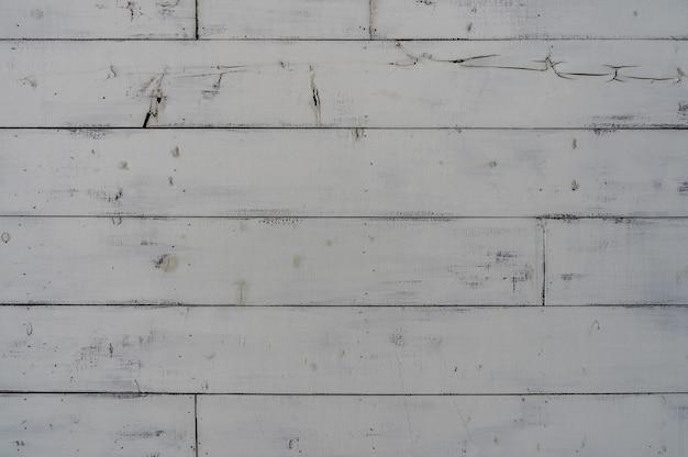 Fond de texture en bois blanc vintage