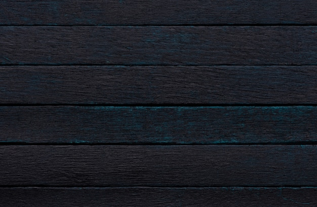 Fond de texture bois bleu foncé abstrait