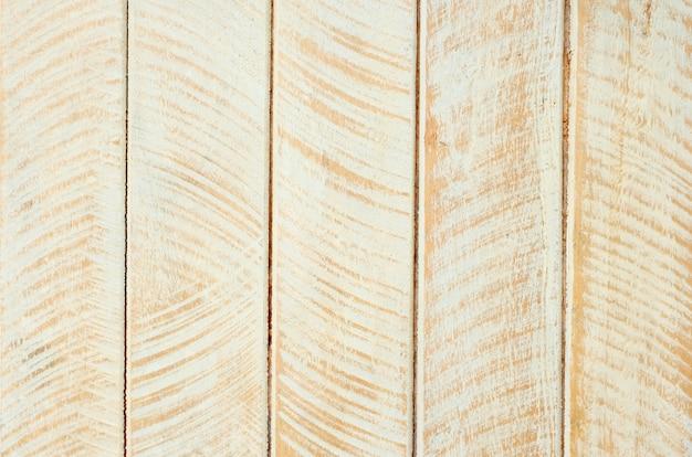 Fond texturé en bois de conception de peinture vintage blanc et brun