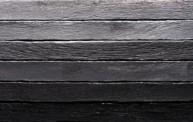 Fond de texture bois couleur noire
