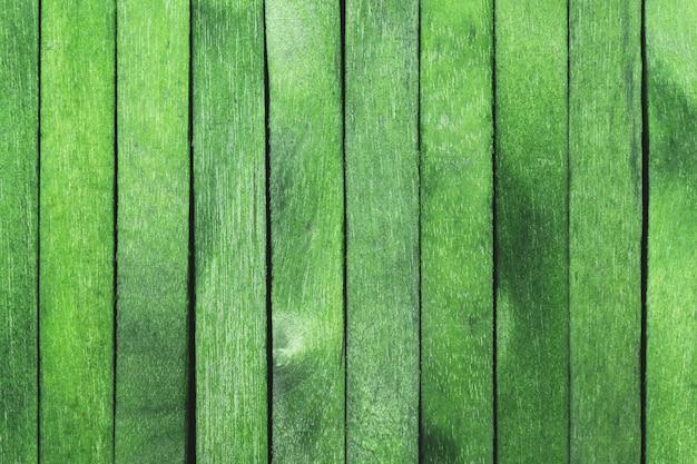 Fond de texture bois couleur verte
