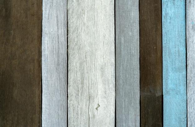 Fond de texture bois gris, noir et bleu. toile de fond en bois.