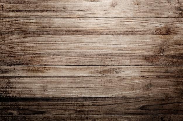 Fond texturé en bois lisse marron
