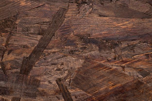 Fond texturé en bois marron détaillé