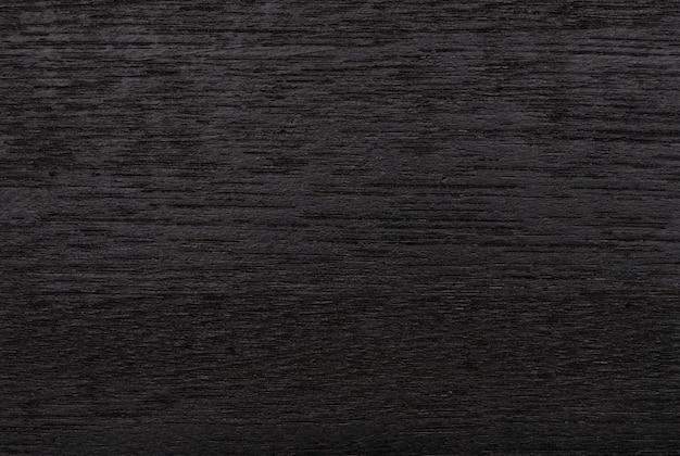 Fond de texture bois noir abstrait