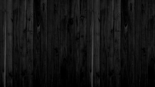 Fond de texture bois noir, motifs de panneaux en bois noir, espace pour le travail.