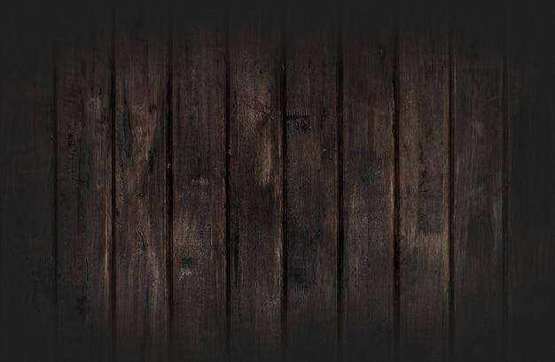Fond de texture bois noir provenant d'un arbre naturel. le panneau en bois a un beau motif sombre, une texture de plancher de bois franc