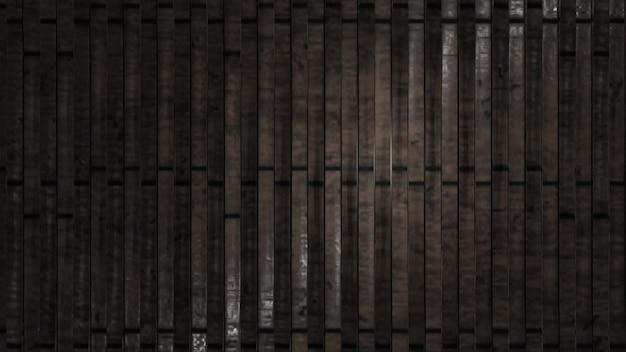 Fond de texture bois noir provenant d'un arbre naturel panneau en bois noir foncé beau motif